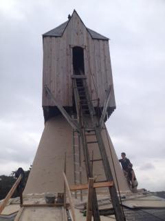 Ravalement moulin   Vermeulen maçonnerie